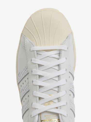 Krémové dámské kožené tenisky adidas Originals Superstar
