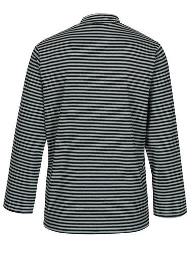 Čierno-zelené pruhované tričko Jacqueline de Yong Gana