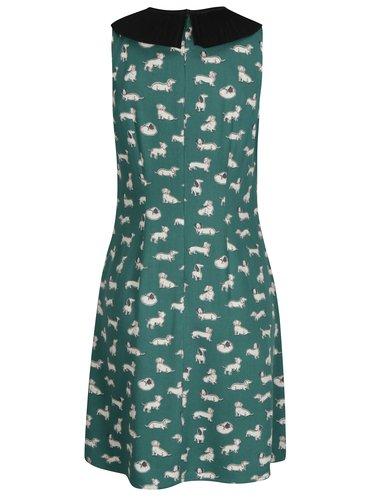 Zelené dámske vzorované šaty Cath Kidston