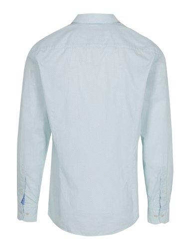 Zeleno-biela vzorovaná košeľa Hackett London Dotty