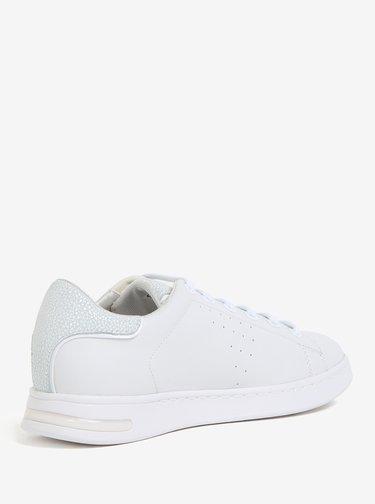 Pantofi sport albi cu model delicat pentru femei  Geox Jaysen
