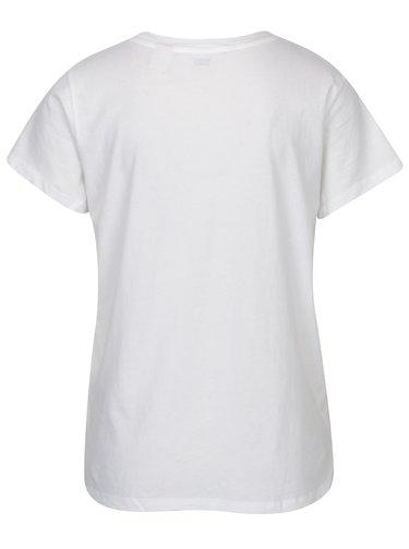 Tricou alb cu print pentru femei - Levi's®