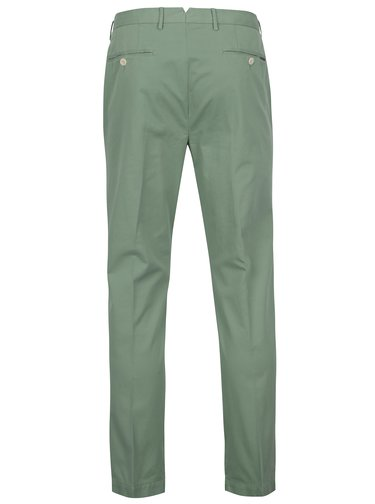Pantaloni chino slim fit verde deschis -  Hackett London