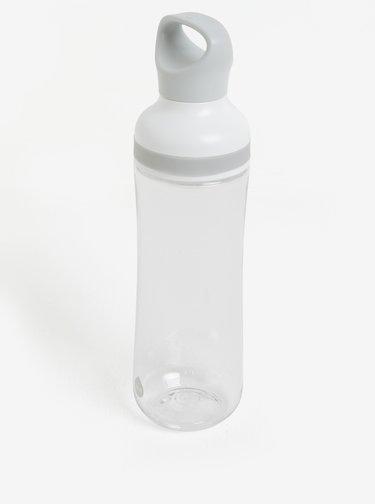Krémovo-sivá plastová fľaša EQUA Flow (800 ml)