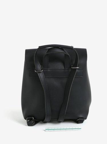 Čierny malý batoh/crossbody kabelka Claudia Canova Kiona