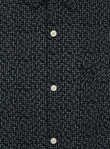 Tmavě modrá vzorovaná košile Original Penguin Polin
