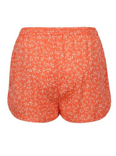 Oranžové kraťasy s drobným vzorem Blendshe Mally
