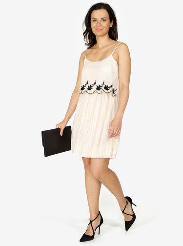 Béžové šaty ONLY Lana