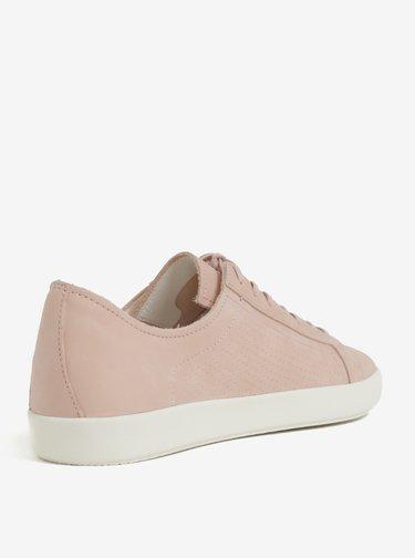 Ružové pánske kožené tenisky Vagabond Vince