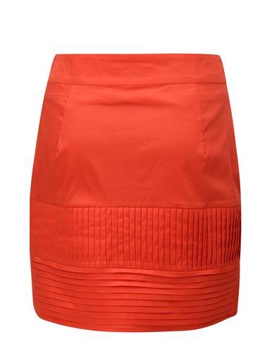 Červená sukňa SKFK