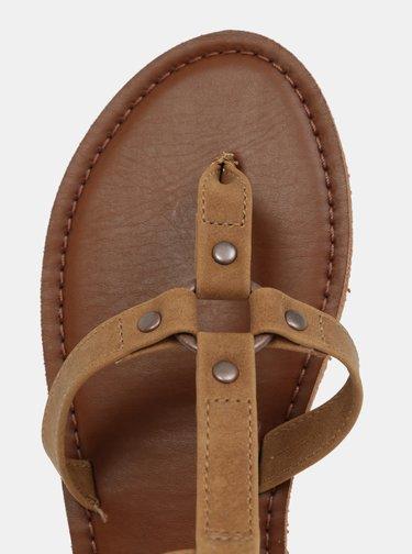 Hnedé sandále Roxy Soria