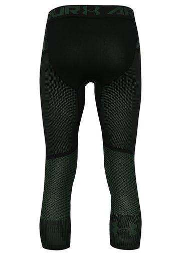Leggings barbatesti functionali negru-verde Under Armour Threadborne