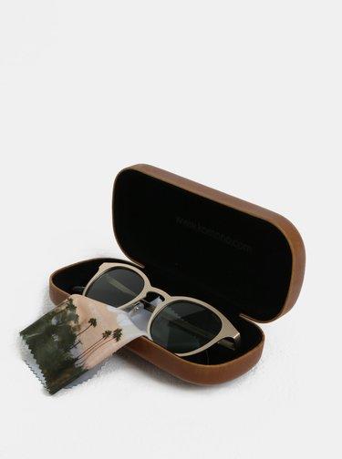 Sluneční brýle ve zlaté barvě Komono Hollis