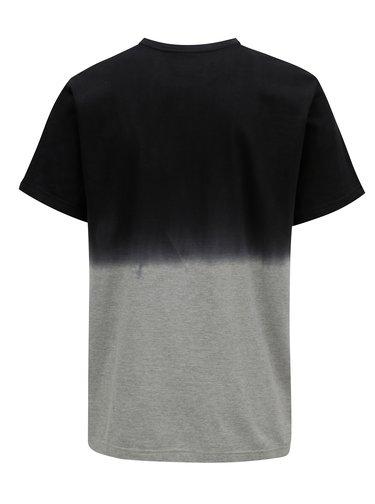 Šedo-černé pánské tričko MEATFLY Spill