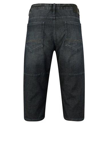 Pantaloni barbatesti scurti albastru inchis regular fit din denim s.Oliver