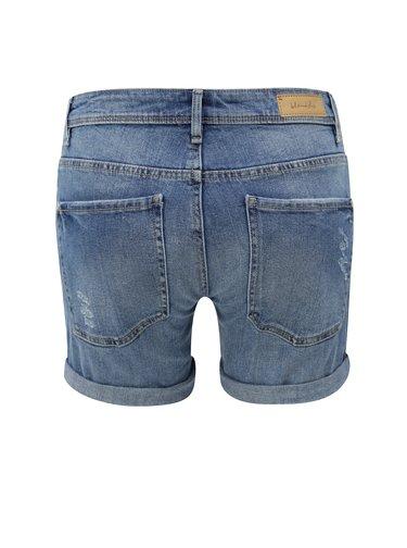 Pantaloni scurti albastri din denim Blendshe Casual June