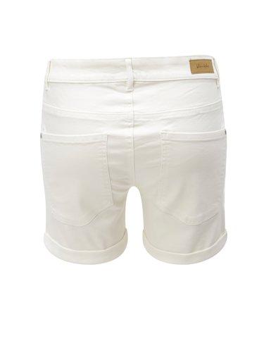 Pantaloni scurti albi Blendshe Casual Cameo
