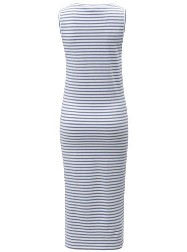 Modré pruhované šaty Blendshe Jemima