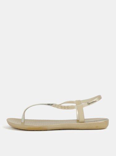 Sandale aurii cu aspect metalic Ipanema Class Exclusive