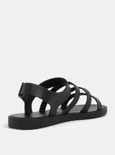Čierne remienková sandálky Zaxy Spring
