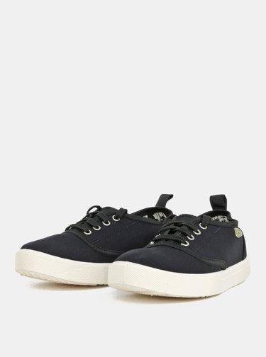 Černé plátěné tenisky Oldcom Jersey