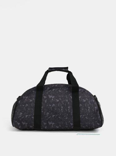 Zeleno-čierna vzorovaná cestovná taška LOAP Aisian