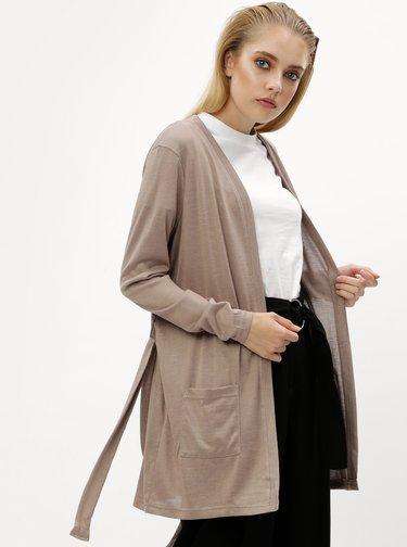 d2ee693ad329 Béžový dámský pletený svetr s netopýřímí rukávy YAYA
