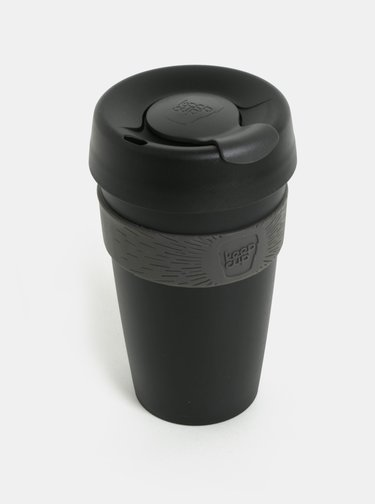 Černý cestovní hrnek KeepCup Original Large