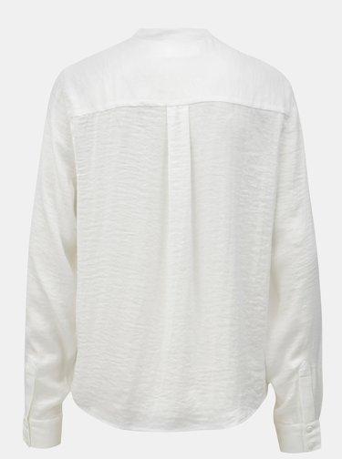 Biela voľná blúzka Moss Copenhagen Luella