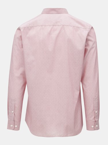 Ružová regular fit košeľa Selected Homme
