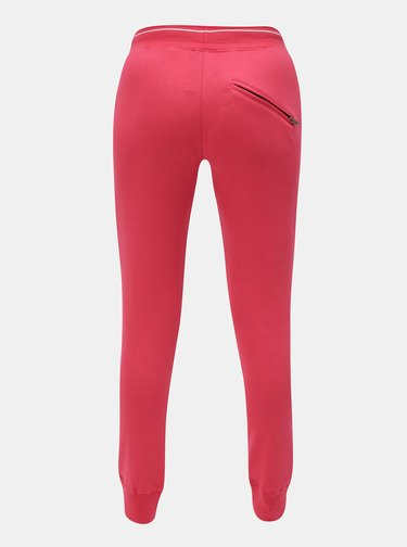 Pantaloni de dama sport roz Meatfly