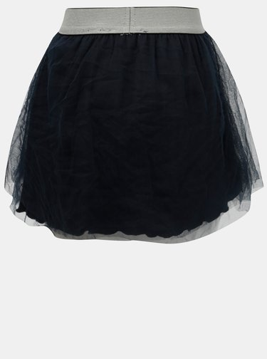 Tmavě modrá holčičí tylová sukně Blue Seven