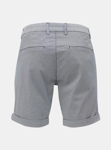 Pantaloni scurti chino crem-albastru Dstrezzed