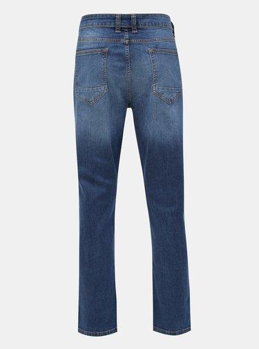 Modré stretch bootcut džíny Burton Menswear London