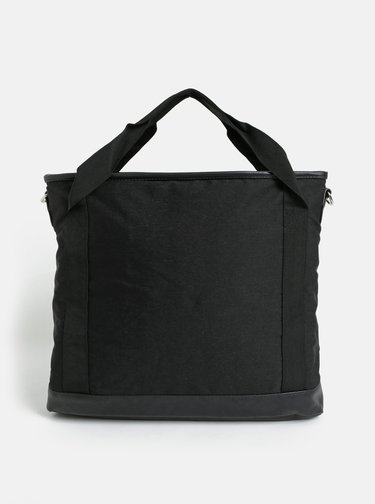 Geanta neagra cu buzunar pentru laptop si bareta detasabila Meatfly Kuna