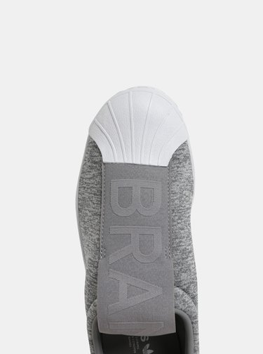 Šedé dámské slip on adidas Originals Gretwo