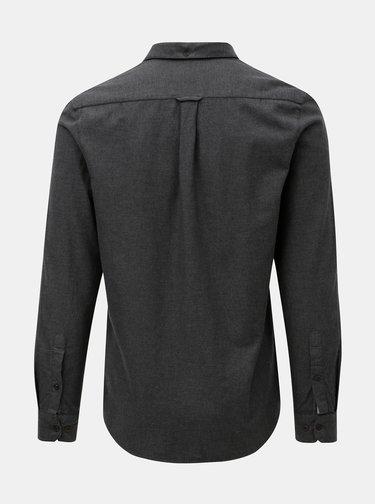 Tmavě šedá slim fit košile Farah