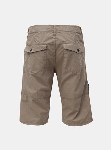 Pantaloni barbatesti scurti straight bej cu buzunare s.Oliver