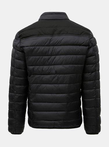 Jacheta barbateasca neagra matlasata s.Oliver