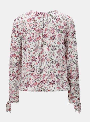 Bluza florala alba cu maneci lungi s.Oliver
