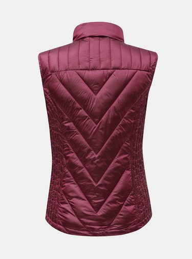 Ružová prešívaná vesta Yest