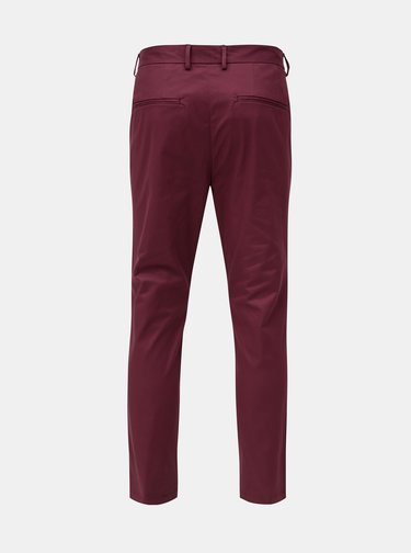 Pantaloni visinii slim fit Burton Menswear London