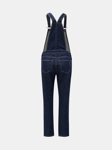 Tmavě modré džínové lacláče Miss Selfridge