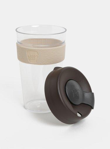 Cana gri-maro de calatorie KeepCup Original large 454 ml