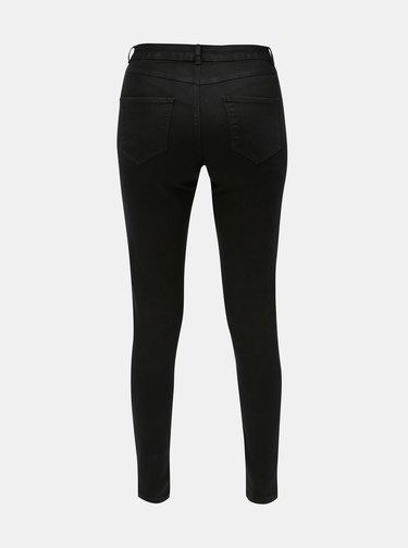 Černé skinny džíny s nízkým pasem Dorothy Perkins Ashley