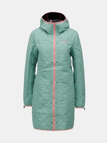 Černý voděodpudivý kabát s lehkým odepínatelným kabátem 2v1 Kari Traa Dalane