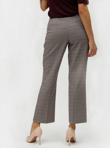 Béžové vzorované nohavice VILA Olau
