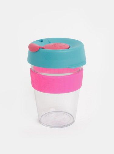 Růžovo-modrý cestovní hrnek KeepCup Original medium 340 ml
