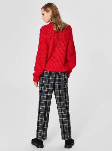 Červený svetr s příměsí vlny Selected Femme Ginna