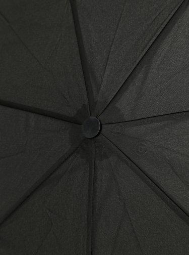 Čierny vystreľovací dáždnik bugatti